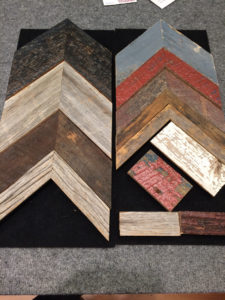 Molding Samples - Weathered wood