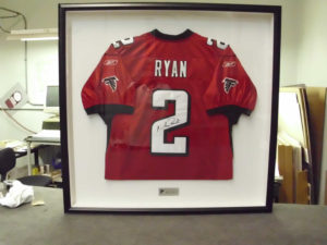 Matt Ryan Jersey Shadowbox