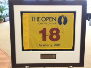 The Open Golf Flag